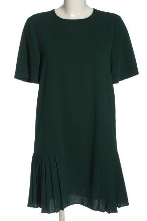 Zara Kurzarmkleid grün