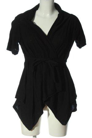 Zara Scaldacuore in maglia nero stile casual