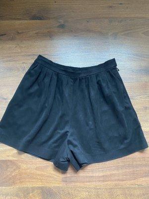 Zara kurze Hose / Shorts schwarz