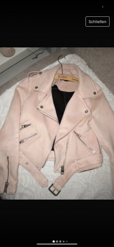 Zara kurze rosa Jacke für Frühling, Sommer