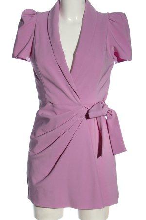 Zara Kurzer Jumpsuit lila Elegant