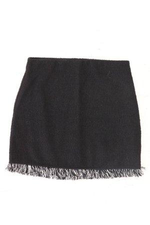 Zara Kurzer Rock Größe S schwarz aus Baumwolle