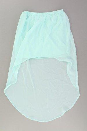 Zara Kurzer Rock Größe S türkis aus Polyester