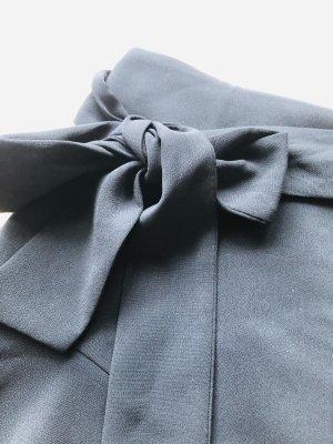Zara, kurzer Rock, mit Schleife zum Binden (individuell), schwarz, Grösse M