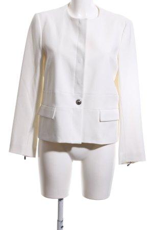 Zara Kort jack wit casual uitstraling