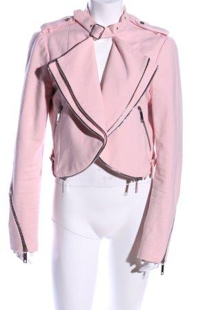 Zara Kurzjacke pink Casual-Look