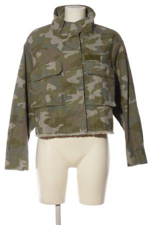 Zara Kurzjacke Camouflagemuster Casual-Look
