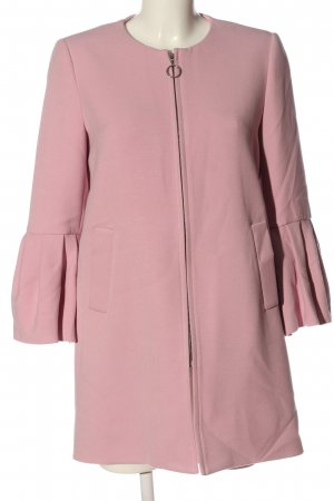 Zara Kurzmantel pink Casual-Look