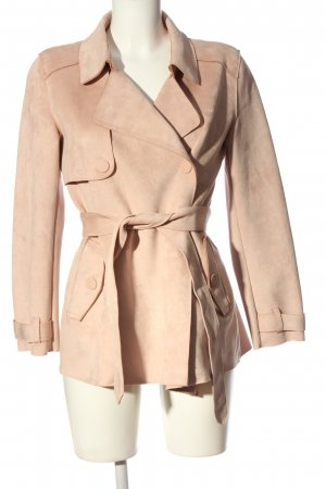 Zara Kurzmantel nude Casual-Look