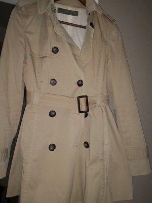 Zara Cappotto corto marrone chiaro-beige