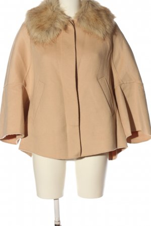 Zara Kurzmantel creme Casual-Look