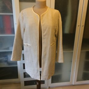 Zara Frock Coat cream cotton