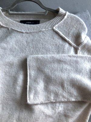 ZARA kuscheliger Pullover beige M