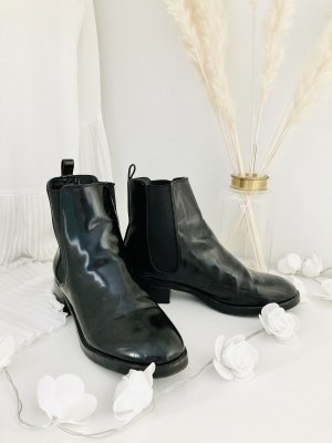 Zara Lackleder Chelsea Boots