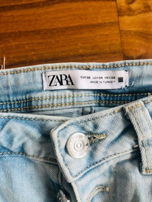 Zara, lässige 80er Jahre helle Blue Jeans, Größe M