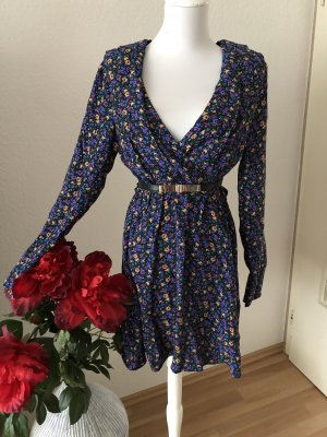 Zara Langarm Blümchen Kleid in S ❤️