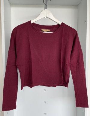 Zara - Langarm Shirt in Bordeaux