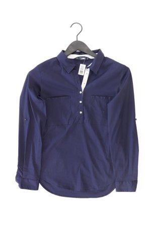 Zara Langarmbluse Größe M neuwertig blau aus Baumwolle