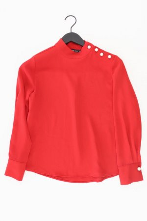 Zara Langarmbluse Größe S neuwertig rot