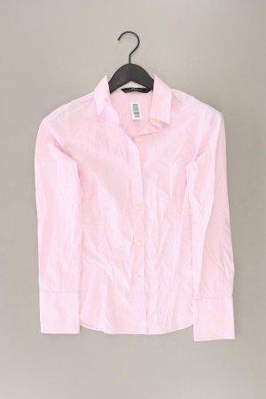 Zara Langarmbluse Größe S pink aus Baumwolle