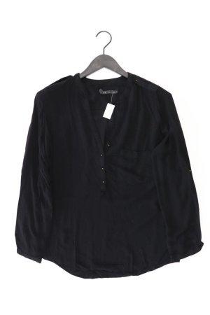 Zara Langarmbluse Größe XL schwarz aus Viskose