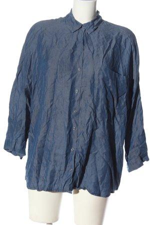 Zara Langarmhemd blau Casual-Look