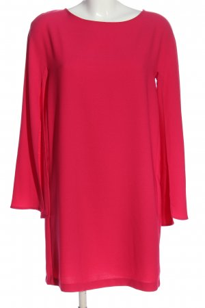 Zara Langarmkleid pink Casual-Look