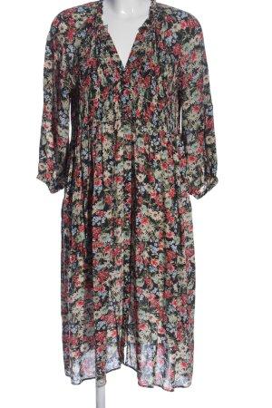 Zara Sukienka z długim rękawem Na całej powierzchni W stylu casual