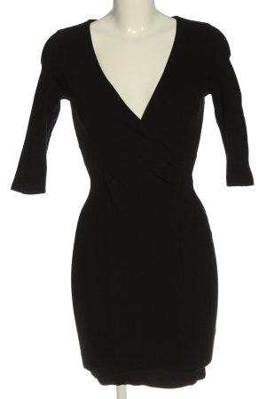 Zara Stretchkleid schwarz Elegant