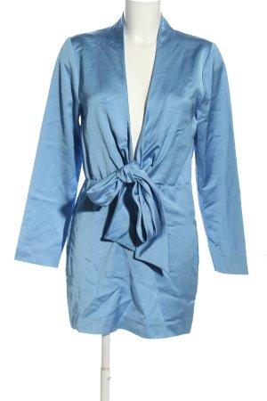 Zara Jurk met lange mouwen blauw elegant