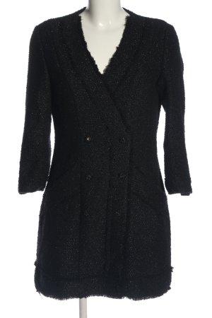 Zara Langarmkleid schwarz Elegant