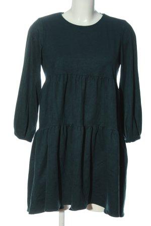 Zara Langarmkleid grün Casual-Look