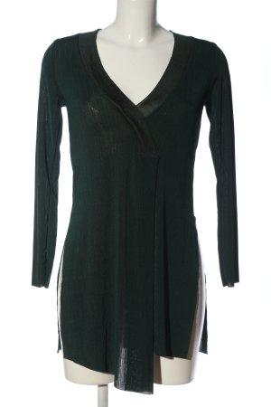 Zara Langarmkleid grün Elegant