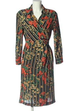 Zara Longsleeve Dress flower pattern casual look