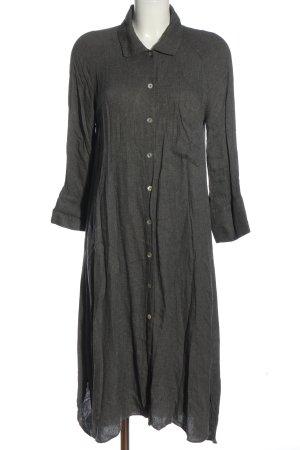 Zara Longsleeve Dress light grey flecked casual look
