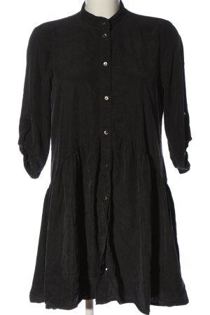 Zara Robe à manches longues noir style décontracté