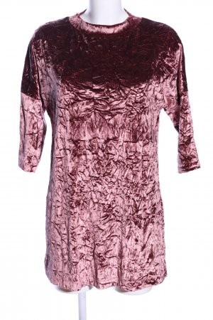 Zara Langarmkleid rot Farbverlauf extravaganter Stil