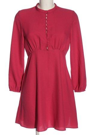 Zara Langarmkleid pink Elegant