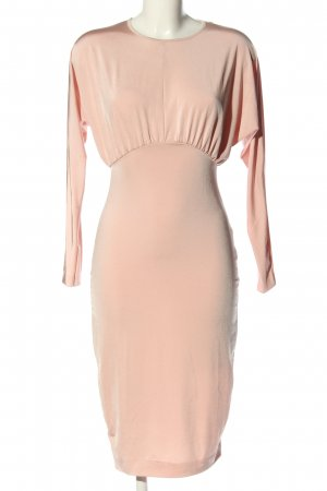 Zara Langarmkleid pink Casual-Look