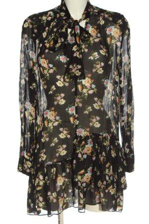 Zara Longsleeve Dress allover print casual look