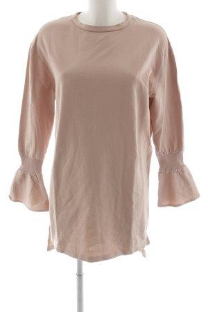 Zara Langarmkleid rosé Casual-Look