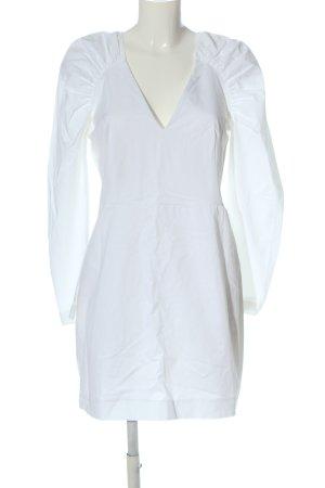 Zara Longsleeve Dress white casual look