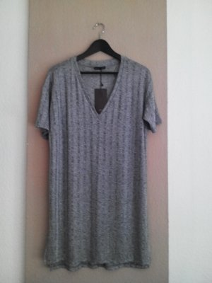 Zara lange Bluse mit Rippenmuster, Größe M neu