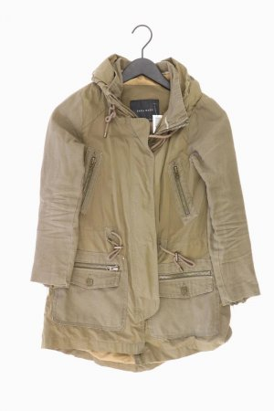 Zara Lange Jacke Größe XS olivgrün