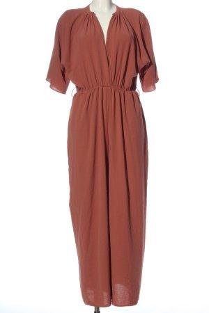 Zara Langer Jumpsuit rot Elegant