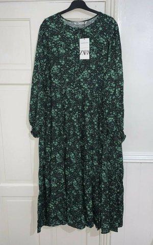Zara langes fliesend geschnittenes Kleid Gr. XXL neu mit Etikett