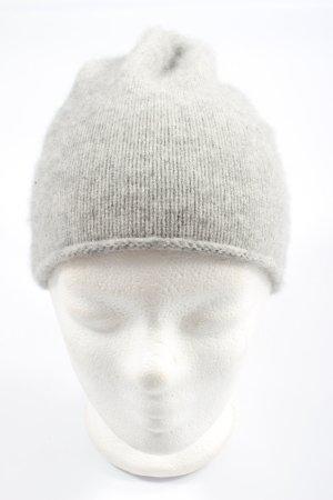 Zara Bonnet cache-oreilles gris clair style décontracté