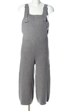 Zara Peto gris claro moteado look casual