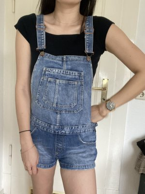 Zara Bib Denim multicolored