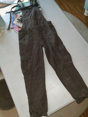Zara Dungarees grey-brown